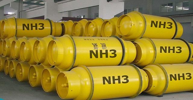 10 Hóa chất công nghiệp phổ biến nhất (Hình 8): amoniac