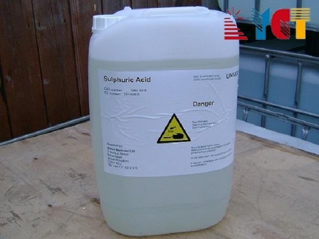 10 Hóa chất công nghiệp phổ biến nhất (Hình 1): axit sulphuric
