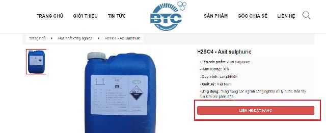 Hướng dẫn mua hóa chất trên website Hóa chất phân bón BTC (hoachatnhapkhauvn.com) Hình 6