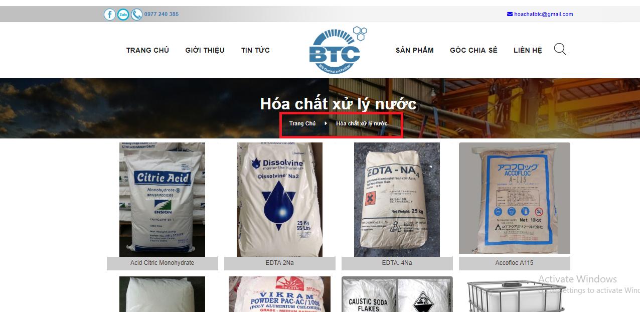 Hướng dẫn mua hóa chất trên website Hóa chất phân bón BTC (hoachatnhapkhauvn.com) Hình 4
