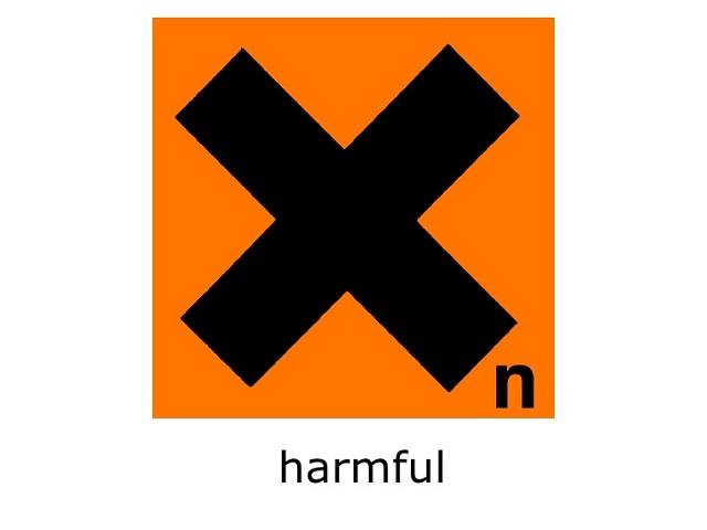 Biểu tượng cho các hóa chất độc hại