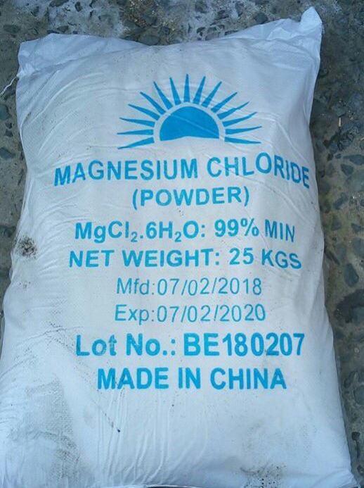 Kết quả hình ảnh cho MAGIE CLORUA MGCL2 - MAGNESIUM CHLORIDE