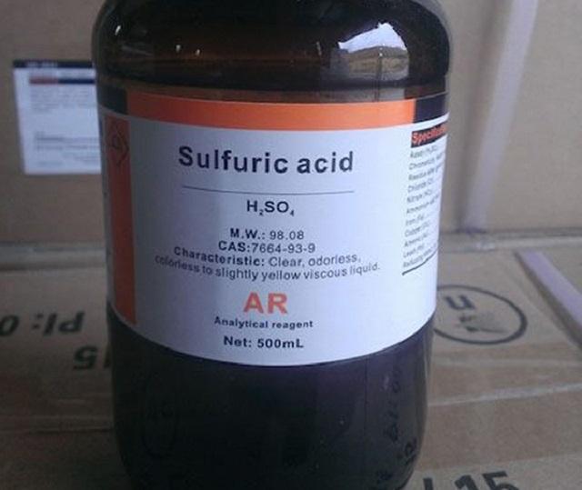 Ứng dụng của Axit Sulfuric trong công nghiệp - Ảnh 1